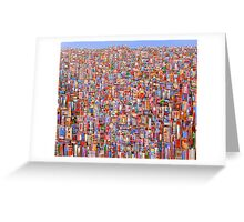 Inner city Greeting Card