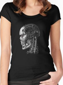 Terminator Profile Women's Fitted Scoop T-Shirt