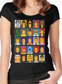 Strength of Schwarzenegger  Women's Fitted Scoop T-Shirt
