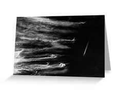 Stratosurfing Greeting Card