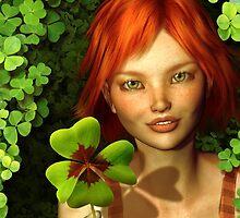 Lucky Charm Fairy by Britta Glodde