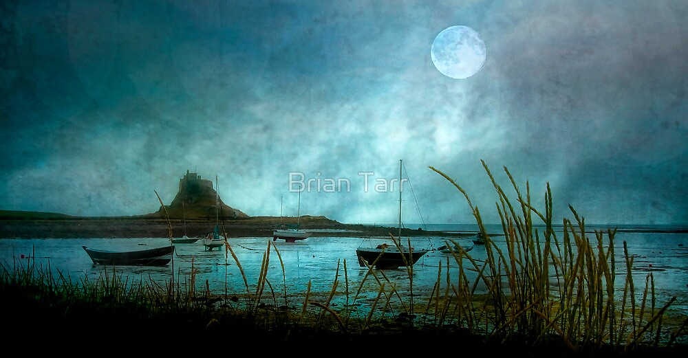 Lindisfarne Moon  by Tarrby