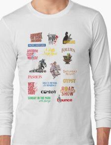 Sondheim Musicals  Long Sleeve T-Shirt