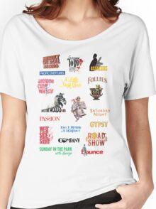 Sondheim Musicals  Women's Relaxed Fit T-Shirt