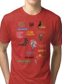 Sondheim Musicals  Tri-blend T-Shirt