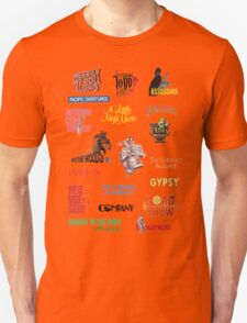 Sondheim Musicals  T-Shirt