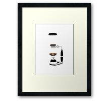 Coffee Monkey - Syphon Coffee Framed Print