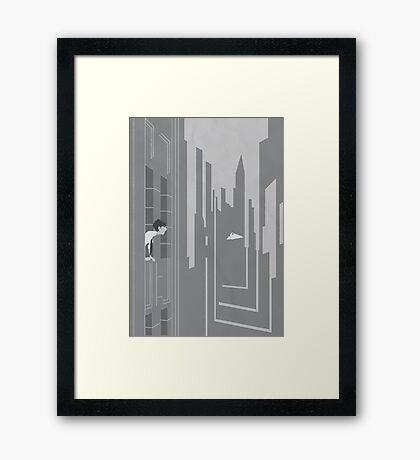 Paper Magic Framed Print