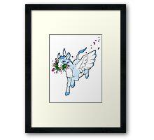 The Love Donkey Framed Print