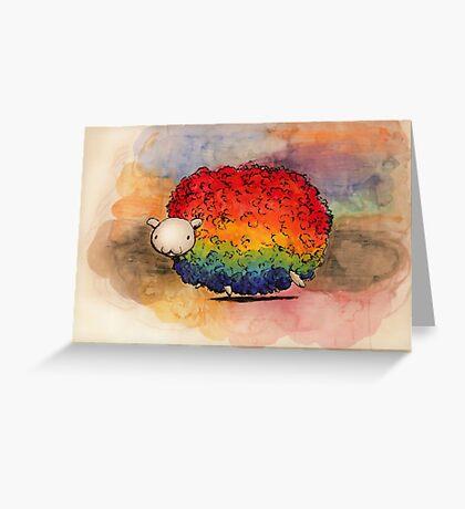 Nyan Sheep Greeting Card
