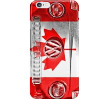 CANADIAN VW iPhone Case/Skin