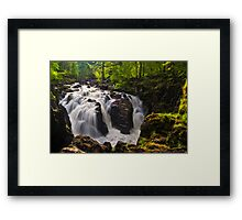 Falls Of Braan Framed Print