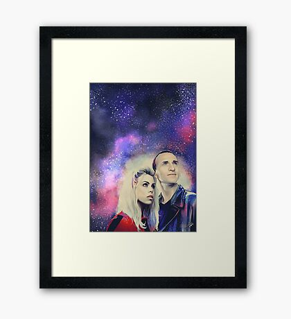 9TH and Rose Framed Print