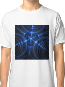 Blue Energy Convergence Classic T-Shirt