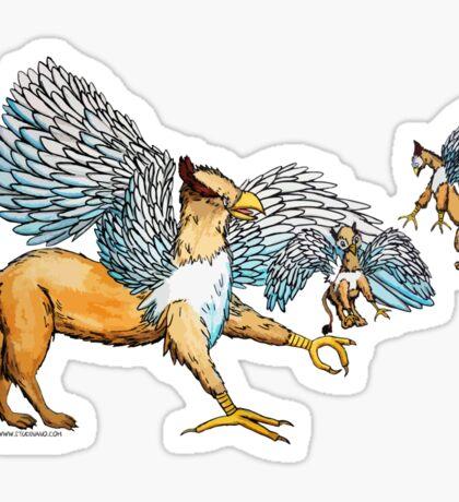 Griffins Family Sticker