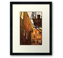 Canadian Beer Fridge Framed Print