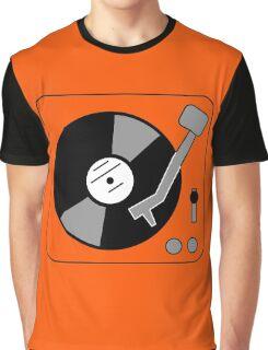 Vinyl Turntable Graphic T-Shirt