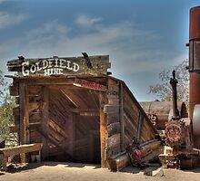 The Goldmine  HDR  by John  Kapusta