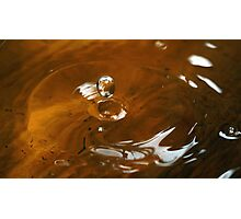 bubble series - one Photographic Print