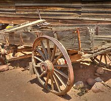 The Old Wagon HDR  by John  Kapusta