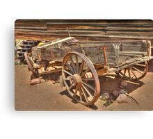 The Old Wagon HDR  Canvas Print
