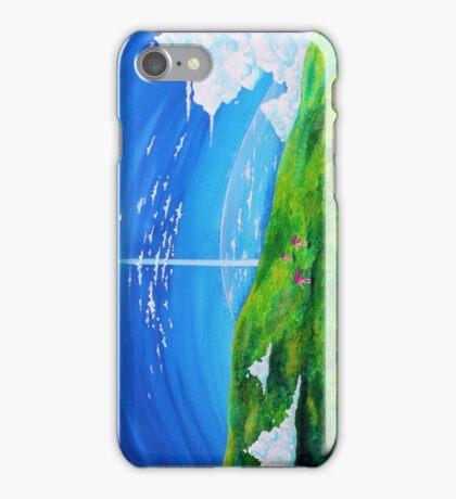 La tour au-delà des nuages (Beyond the Clouds) iPhone Case/Skin