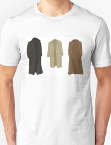 A study in trenchcoats T-Shirt