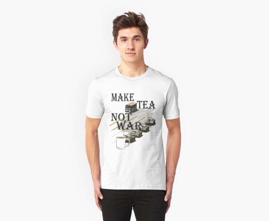 make tea not war by IanByfordArt