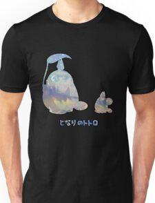 My Winter Neighbour Totoro Buddy Black Unisex T-Shirt