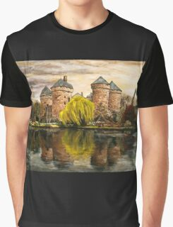 The castle Graphic T-Shirt