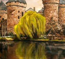 The castle Sticker