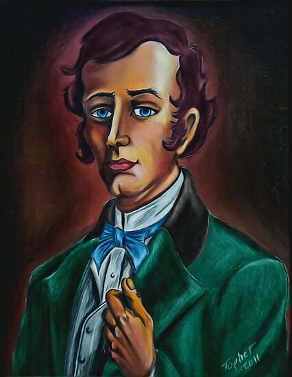Mr. William Gracey from Gracey Mannor. Drawn by Topher Adam by TopherAdam