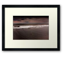 Pebble Beach - Cork Ireland Framed Print