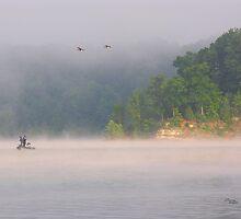 Fog Fishing by Nicole  McKinney