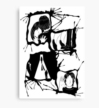 Love Sucks Canvas Print