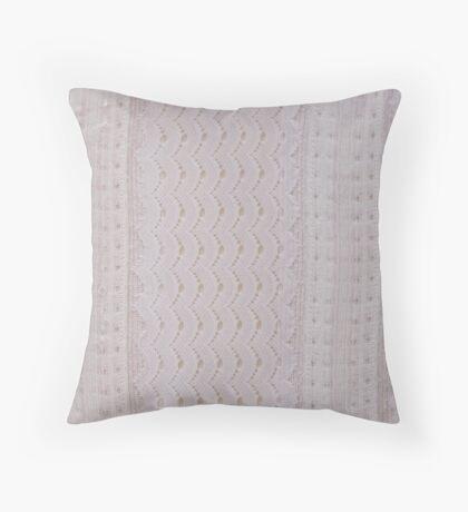 White Study Throw Pillow