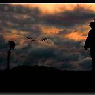 A Memorial at Verdun - 1918 - by Richard  Gerhard