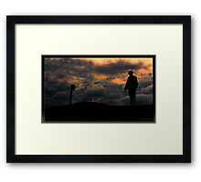 A Memorial at Verdun - 1918 - Framed Print