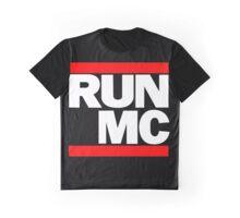 RUN MC - Alternative version for sticker. Graphic T-Shirt