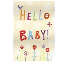 Hello Baby! Poster