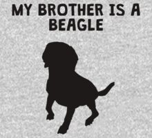 My Brother Is A Beagle Kids Tee
