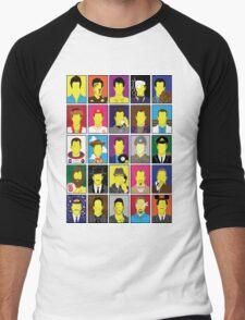 Hall of Hanks Men's Baseball ¾ T-Shirt
