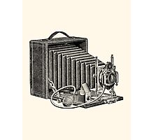 Seroco Folding Camera - 1907 Model Photographic Print