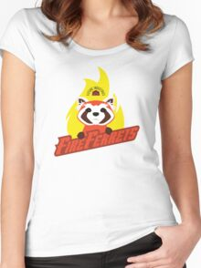Future Industries Fire Ferrets Women's Fitted Scoop T-Shirt