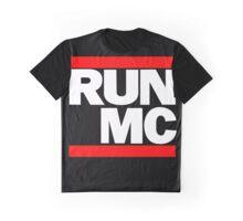 RUN MC - Hip Hop Mashup Graphic T-Shirt