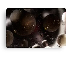 Bubblescapes - Oil in Water I Canvas Print
