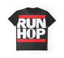 Funny RUN HIP HOP  Graphic T-Shirt