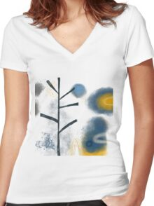 Cold Weather Women's Fitted V-Neck T-Shirt