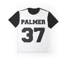 Welcome To Night Vale PALMER 37 Baseball Jersey Graphic T-Shirt