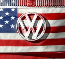 USA VW Sticker